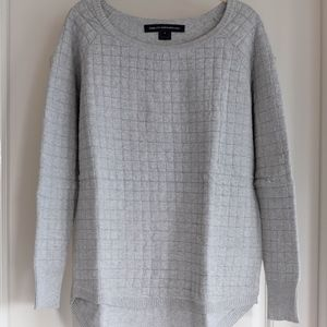 French Connection Gray Sweater - Size Small